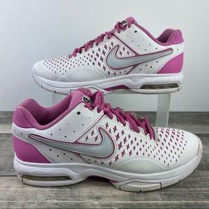 Nike Air Cage Advantage Size 10 Tennis Shoes Pink